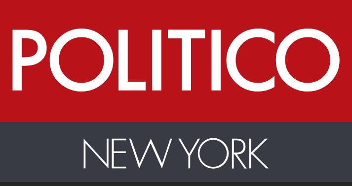 news graphic for Politico NY