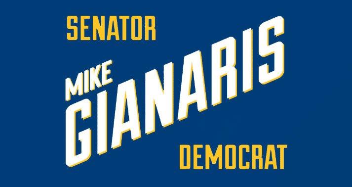 Mike Gianaris' logo for PRs
